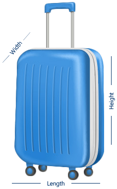 Baggage dimensions